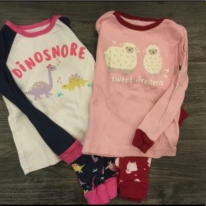 ⭐️2/$15⭐️ 2 sets pajamas size 24 mo.
